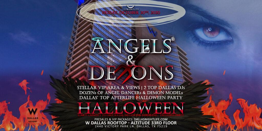 Angels & Demons Halloween Edition - Sky High Fridays