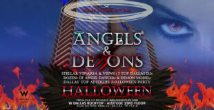 Angels & Demons Halloween Edition - Sky High Fridays