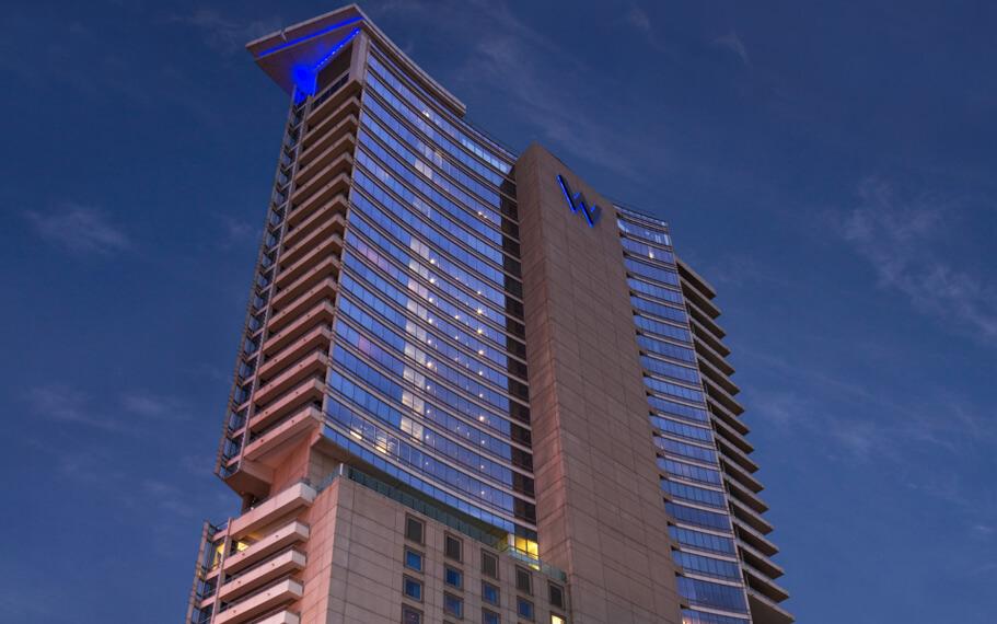 W Dallas Hotel Exterior